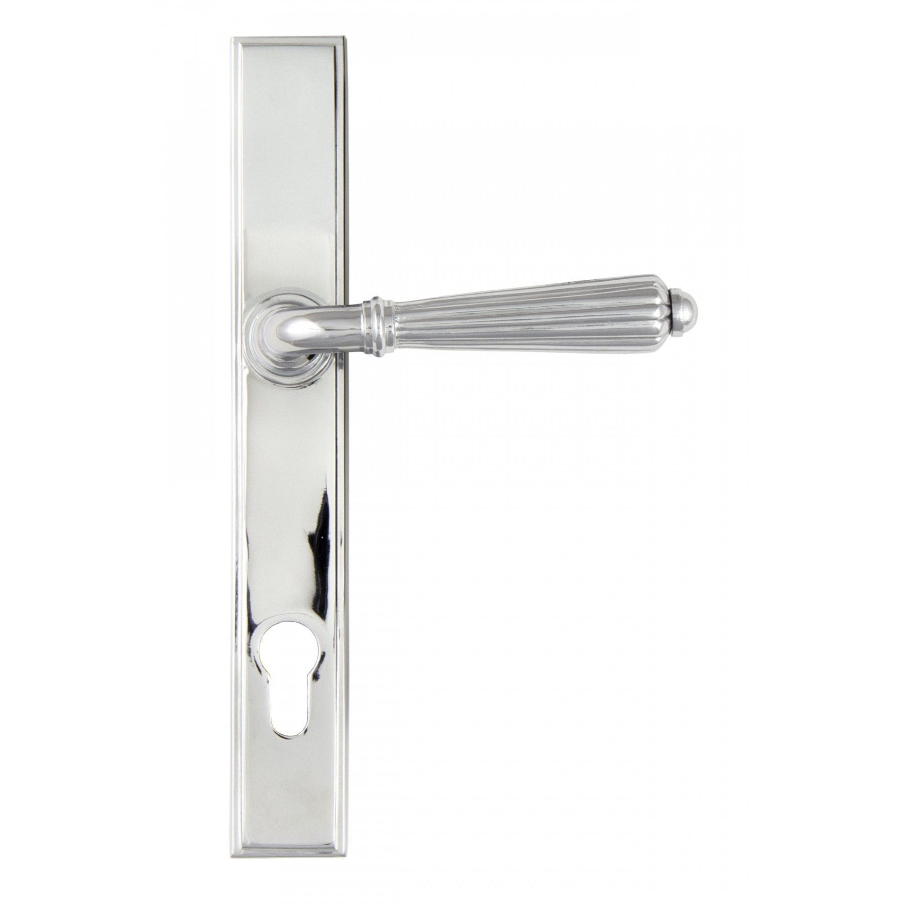 From the Anvil Polished Chrome Hinton Slimline Lever Espag. Lock Set
