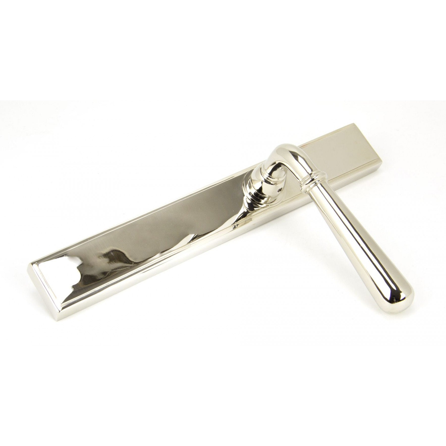 Polished Nickel Newbury Slimline Lever Latch Set