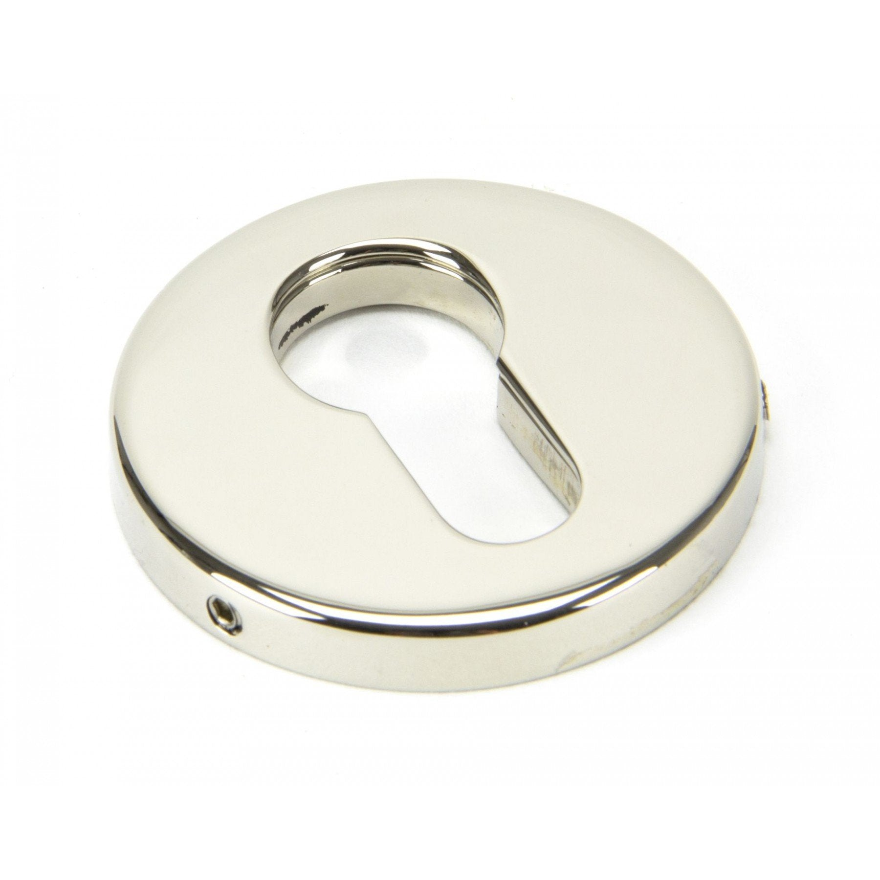 Polished Nickel 52mm Regency Concealed Escutcheon - No.42 Interiors