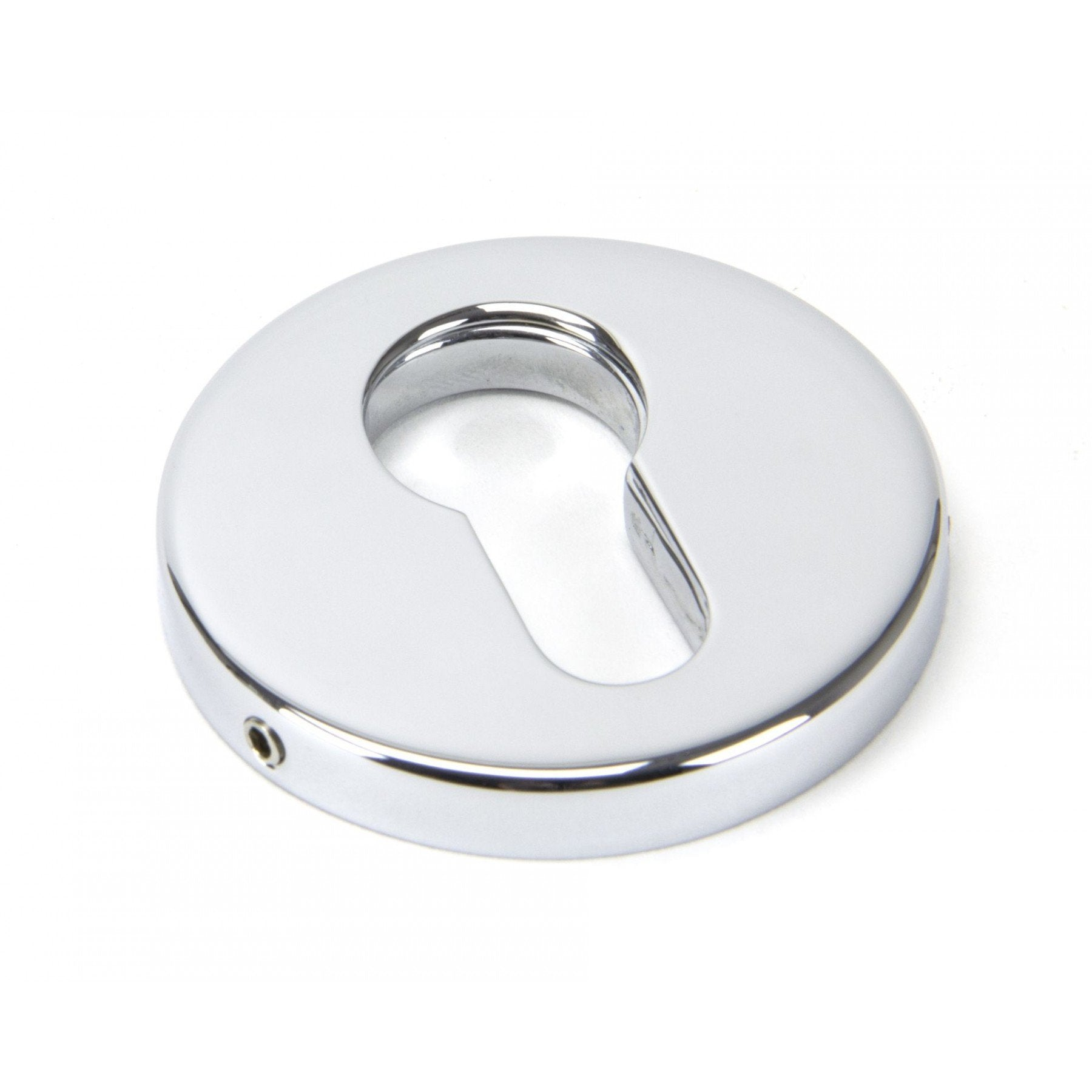 Polished Chrome 52mm Regency Concealed Escutcheon - No.42 Interiors