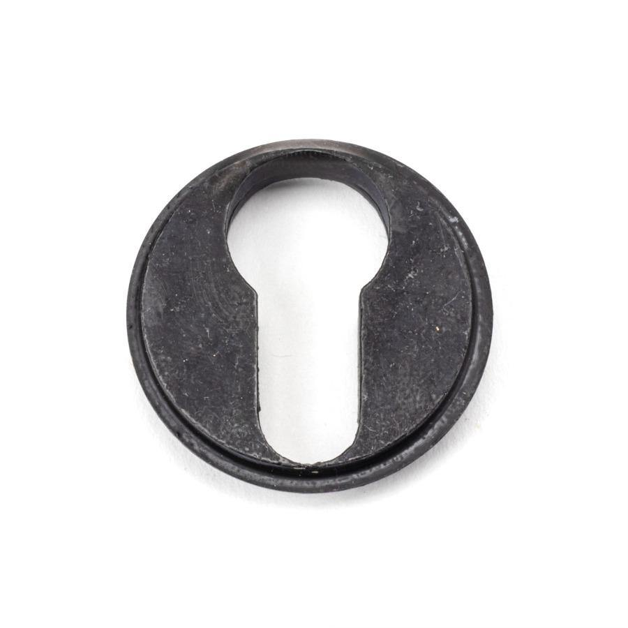 From the Anvil External Beeswax Round Euro Escutcheon (Beehive) - No.42 Interiors