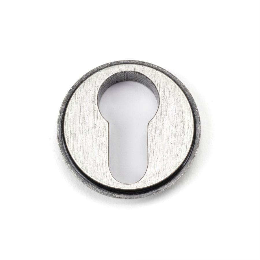 From the Anvil Pewter Round Euro Escutcheon (Beehive) - No.42 Interiors