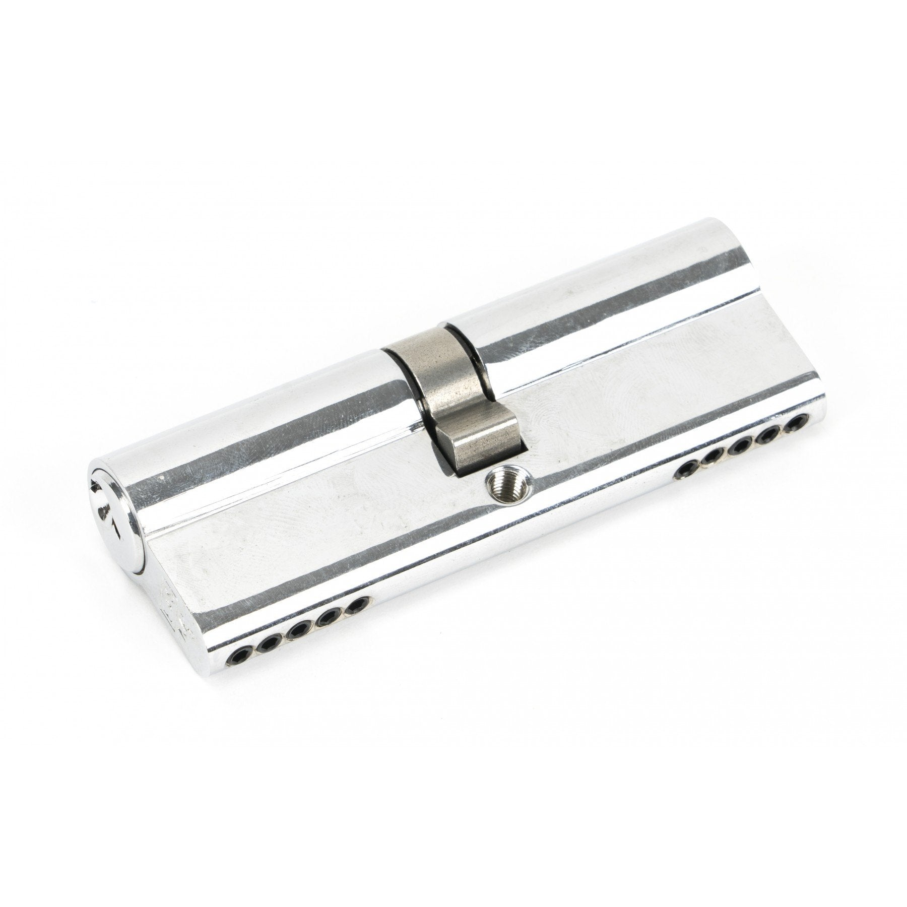 Polished Chrome 45/45 5pin Euro Cylinder - No.42 Interiors