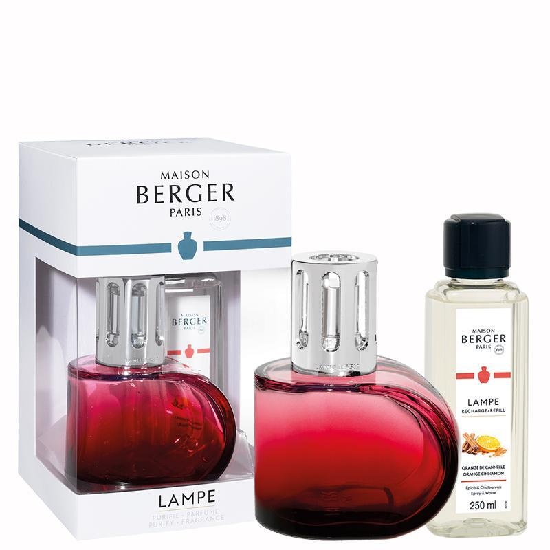 Maison Berger Red Alliance Lampe Berger Gift Pack - No.42 Interiors