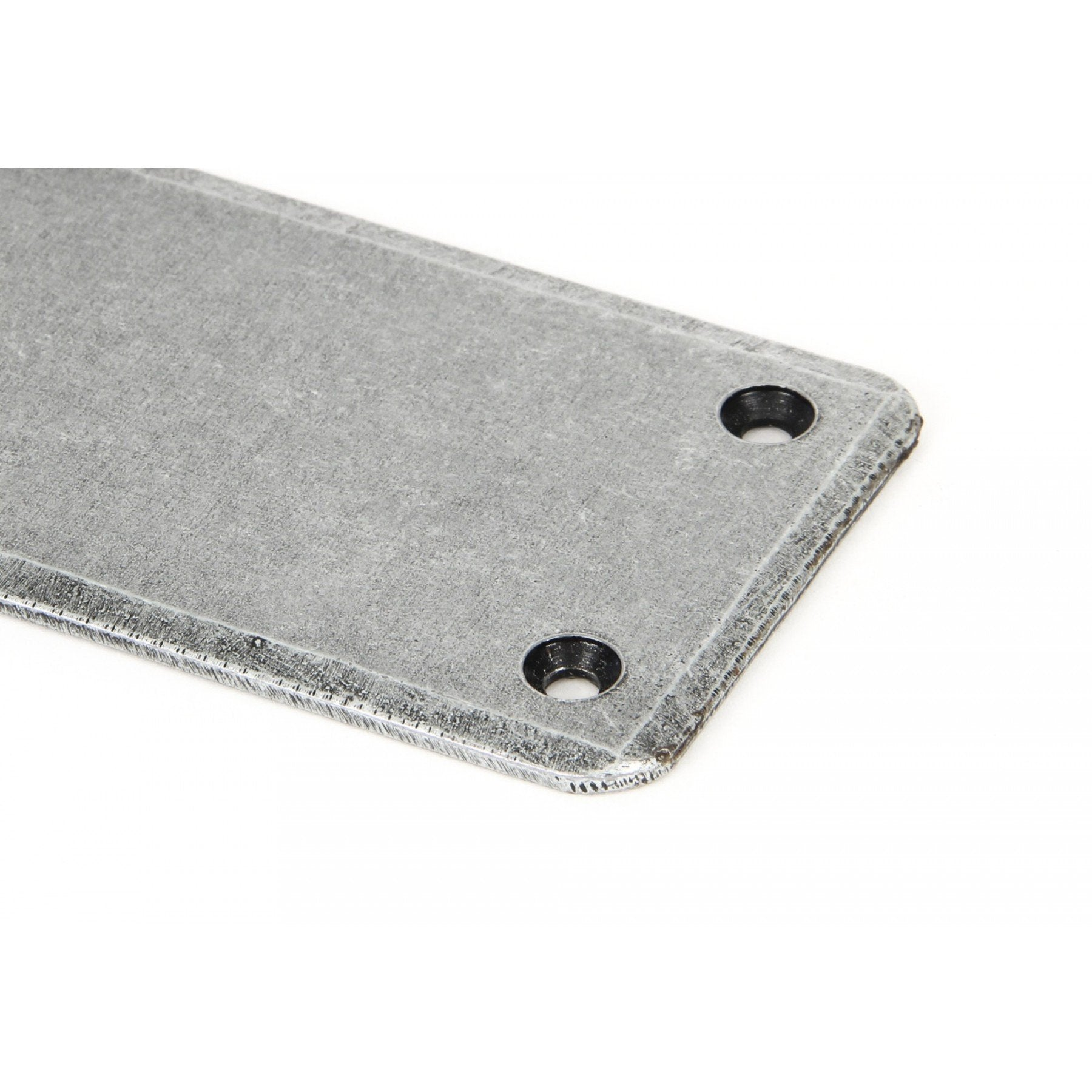 Pewter Fingerplate - Large - No.42 Interiors
