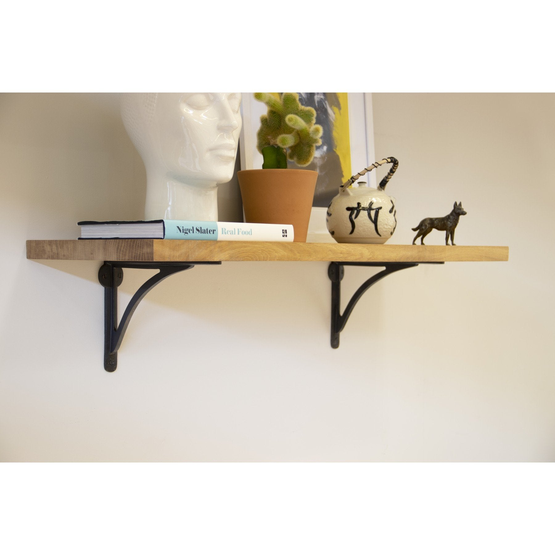 "Beeswax 10"" x 7"" Curved Shelf Bracket - No.42 Interiors"
