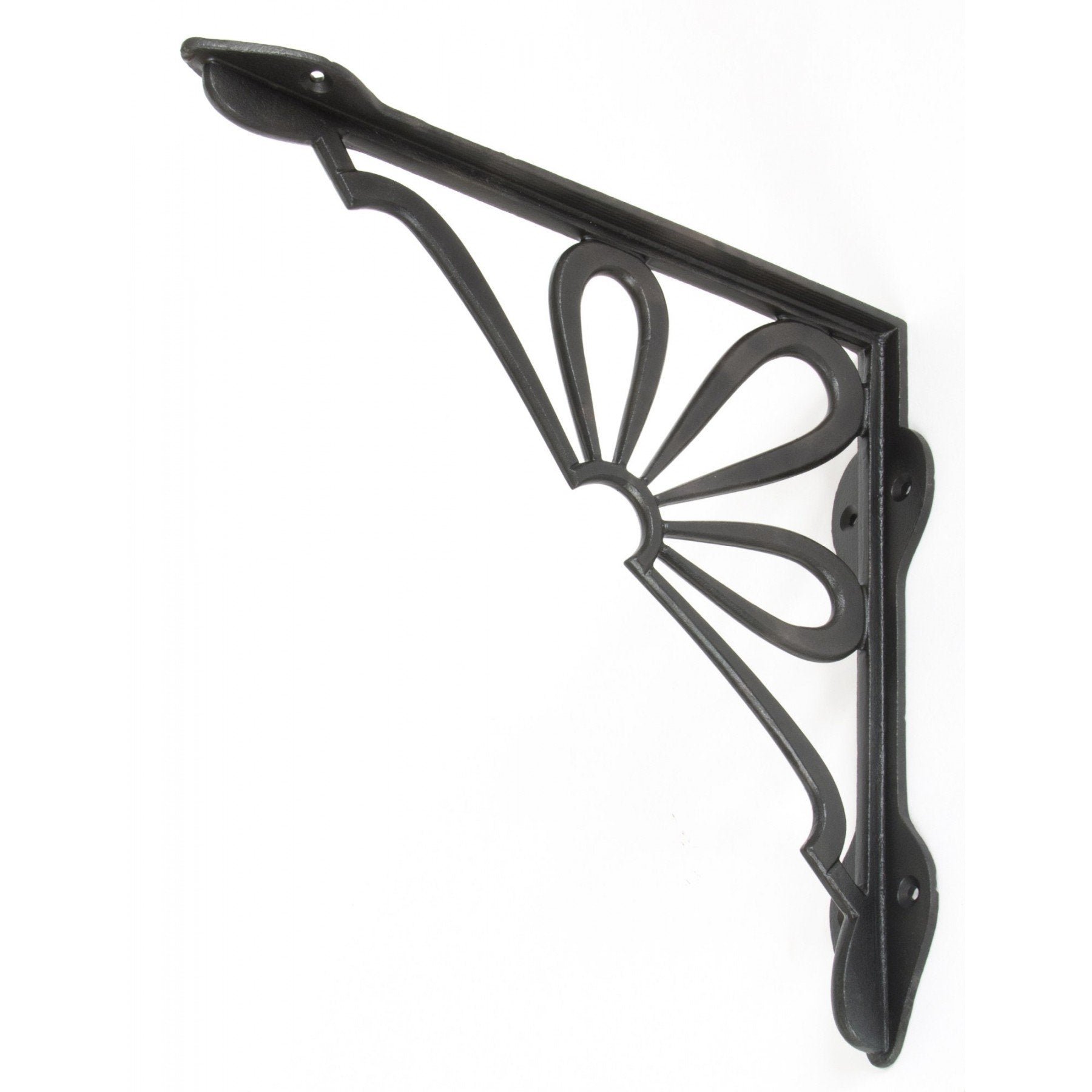 "Beeswax 9"" x 9"" Flower Shelf Bracket - No.42 Interiors"
