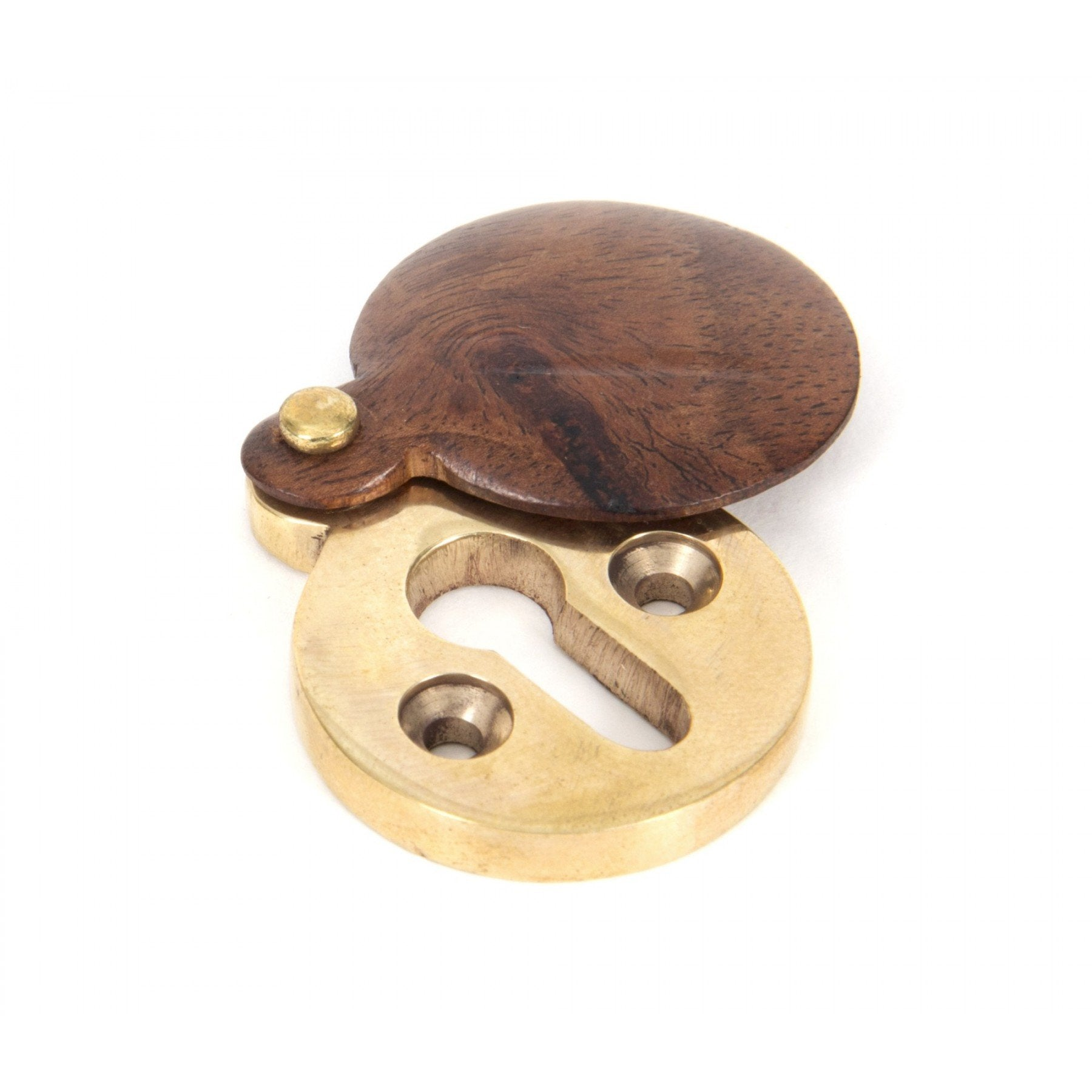 Rosewood Round Escutcheon - No.42 Interiors