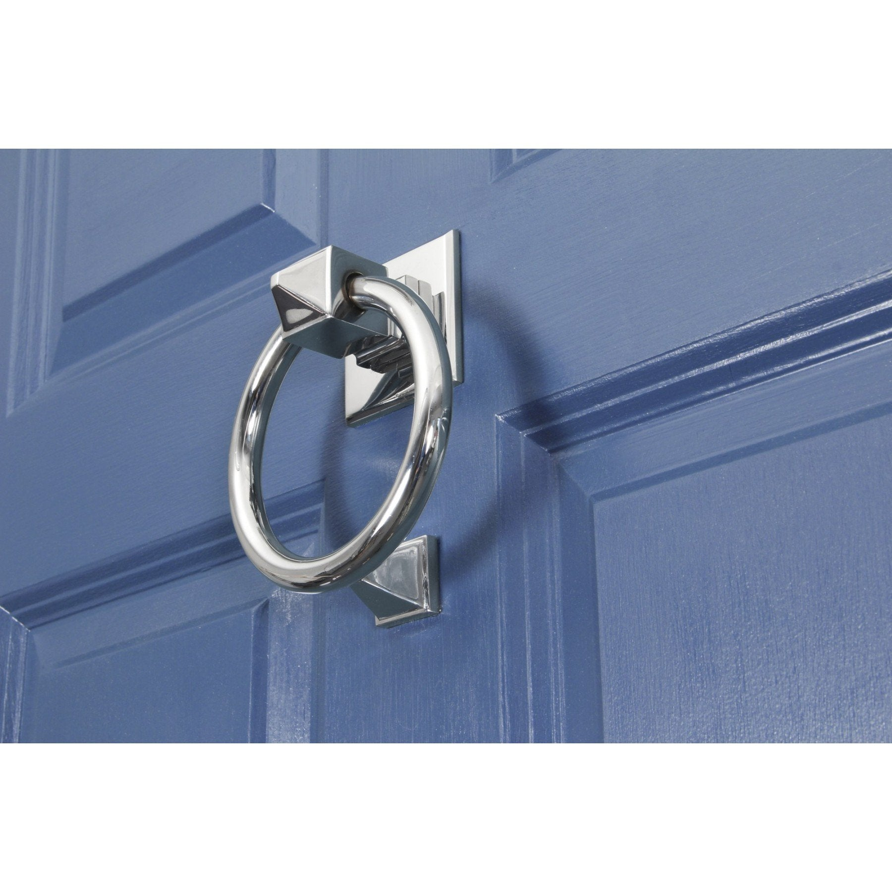 Polished Chrome Ring Door Knocker