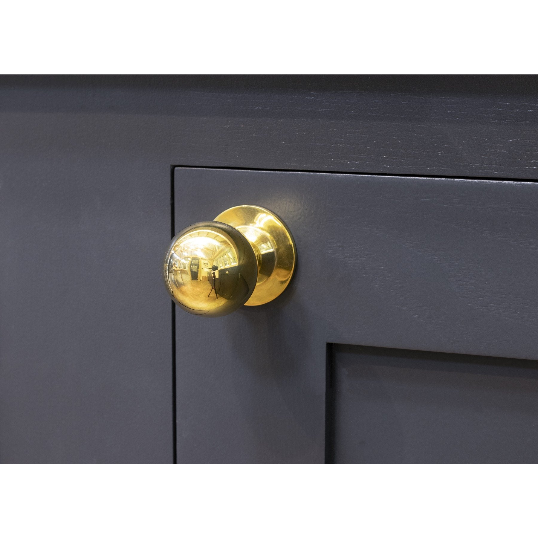 Polished Brass Ball Cabinet Knob - Large - No.42 Interiors