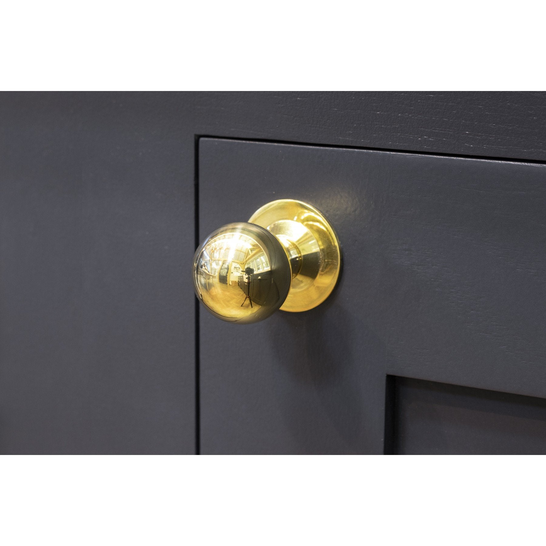 Polished Brass Ball Cabinet Knob - Small - No.42 Interiors