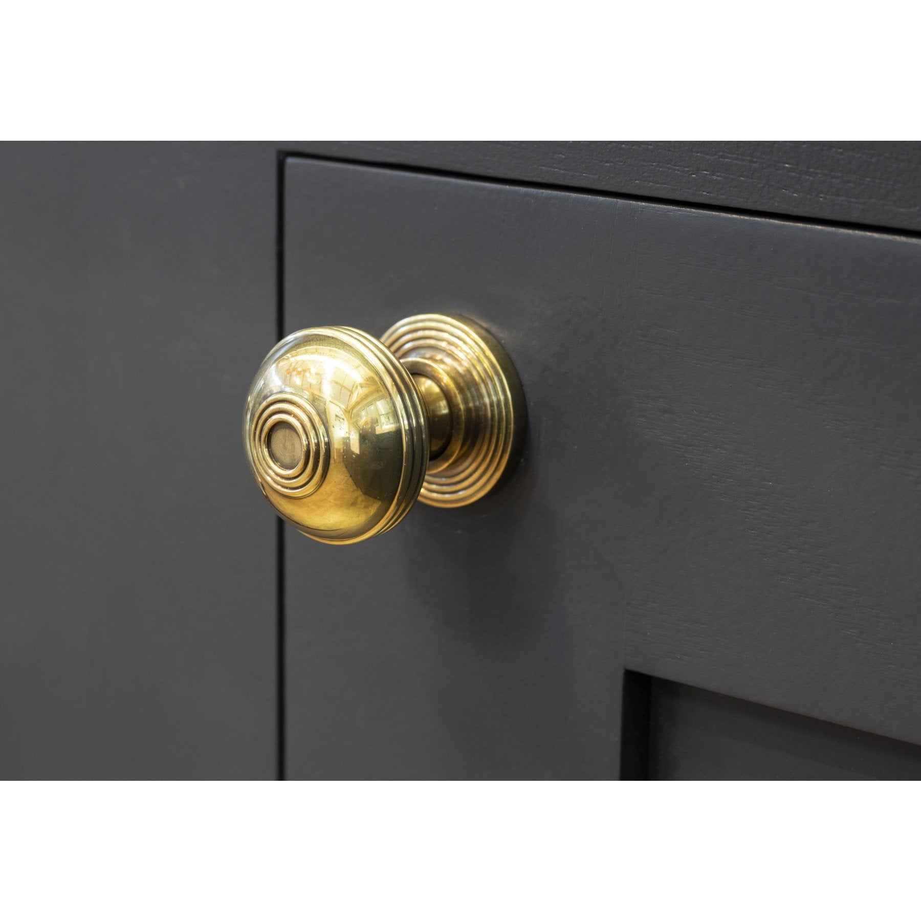 From the Anvil Aged Brass Prestbury Cabinet Knob - Small