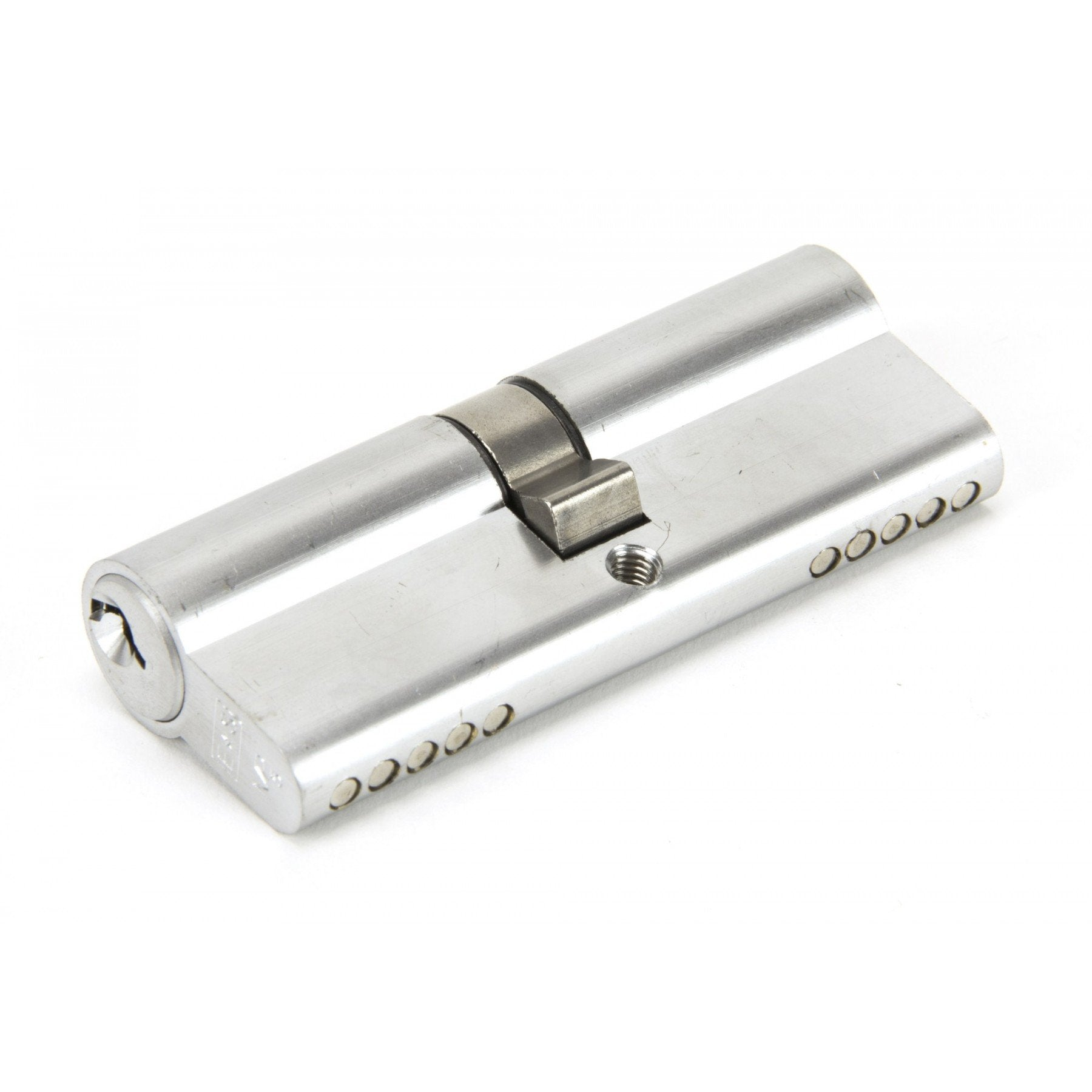 Satin Chrome 40/40 Euro Cylinder - No.42 Interiors