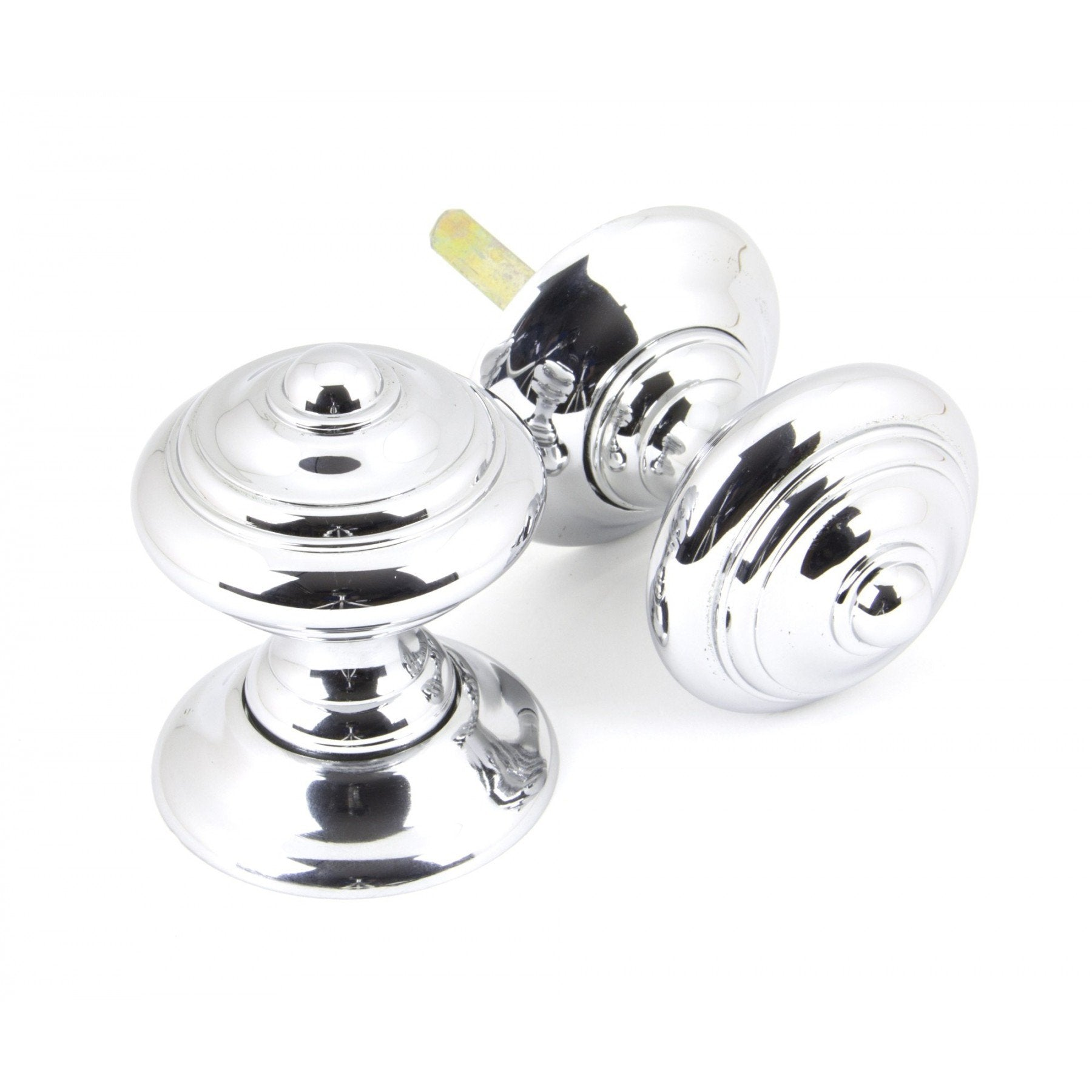 From the Anvil Polished Chrome Elmore Concealed Mortice Knob Set