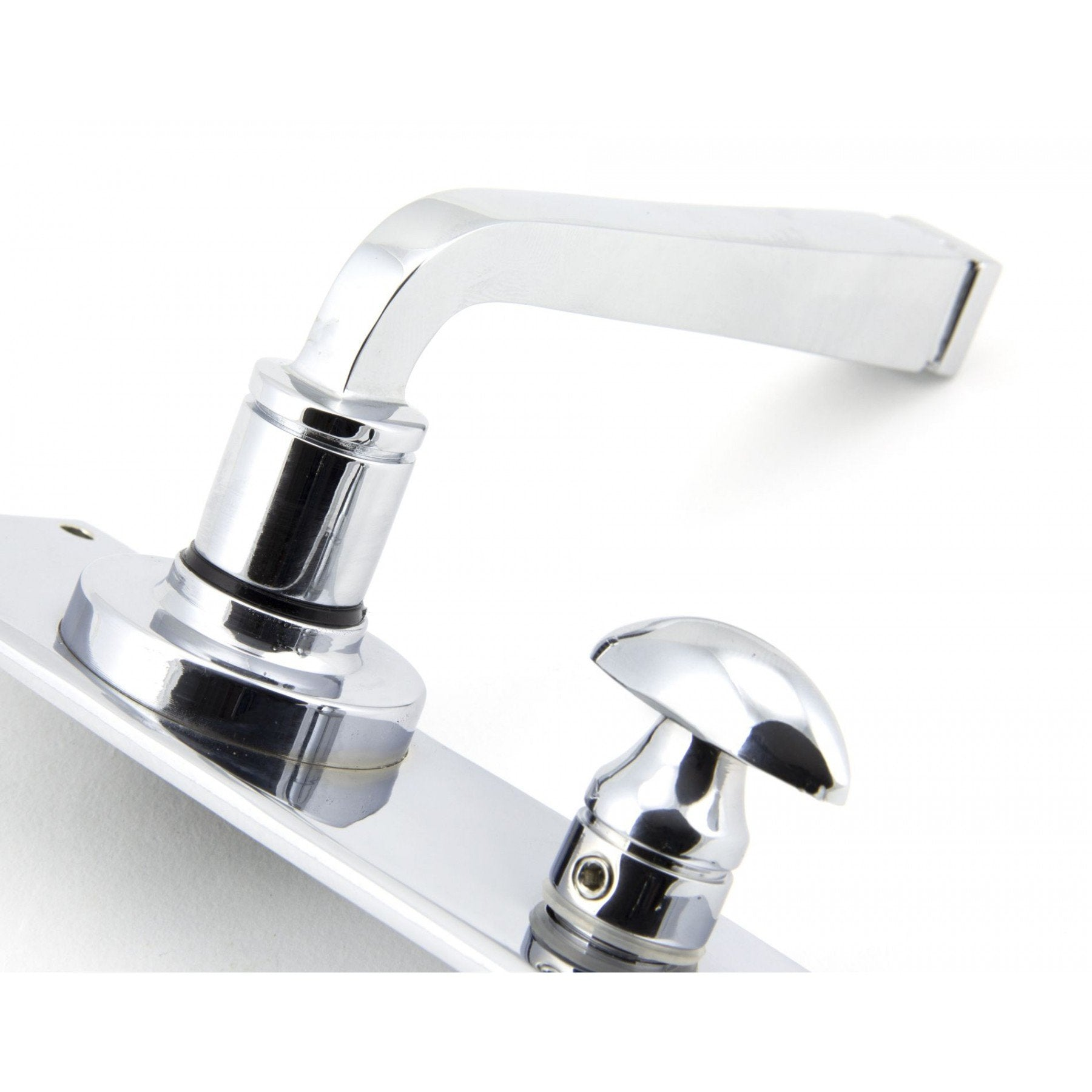 From the Anvil Polished Chrome Avon Lever Bathroom Set