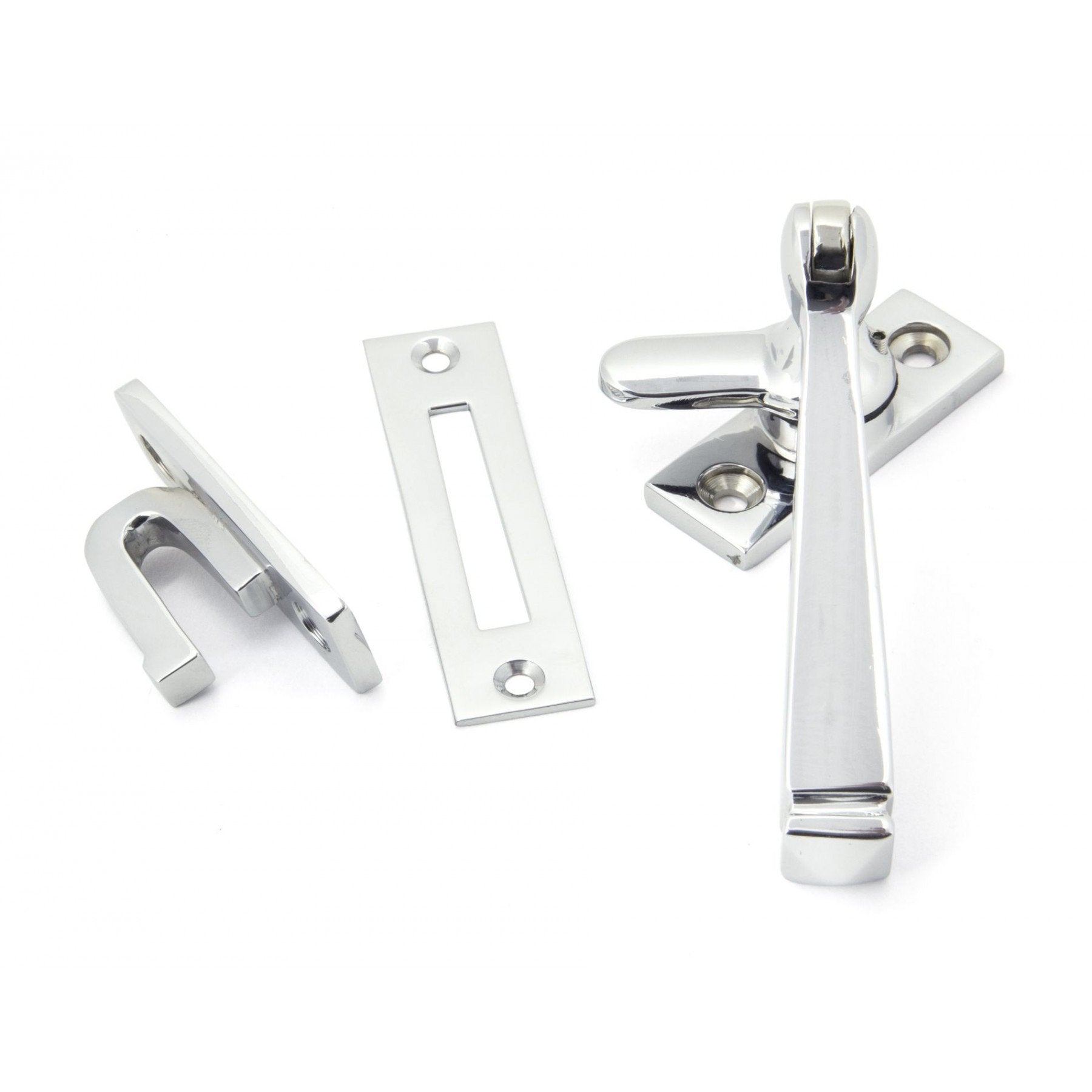 Polished Chrome Locking Avon Fastener - No.42 Interiors