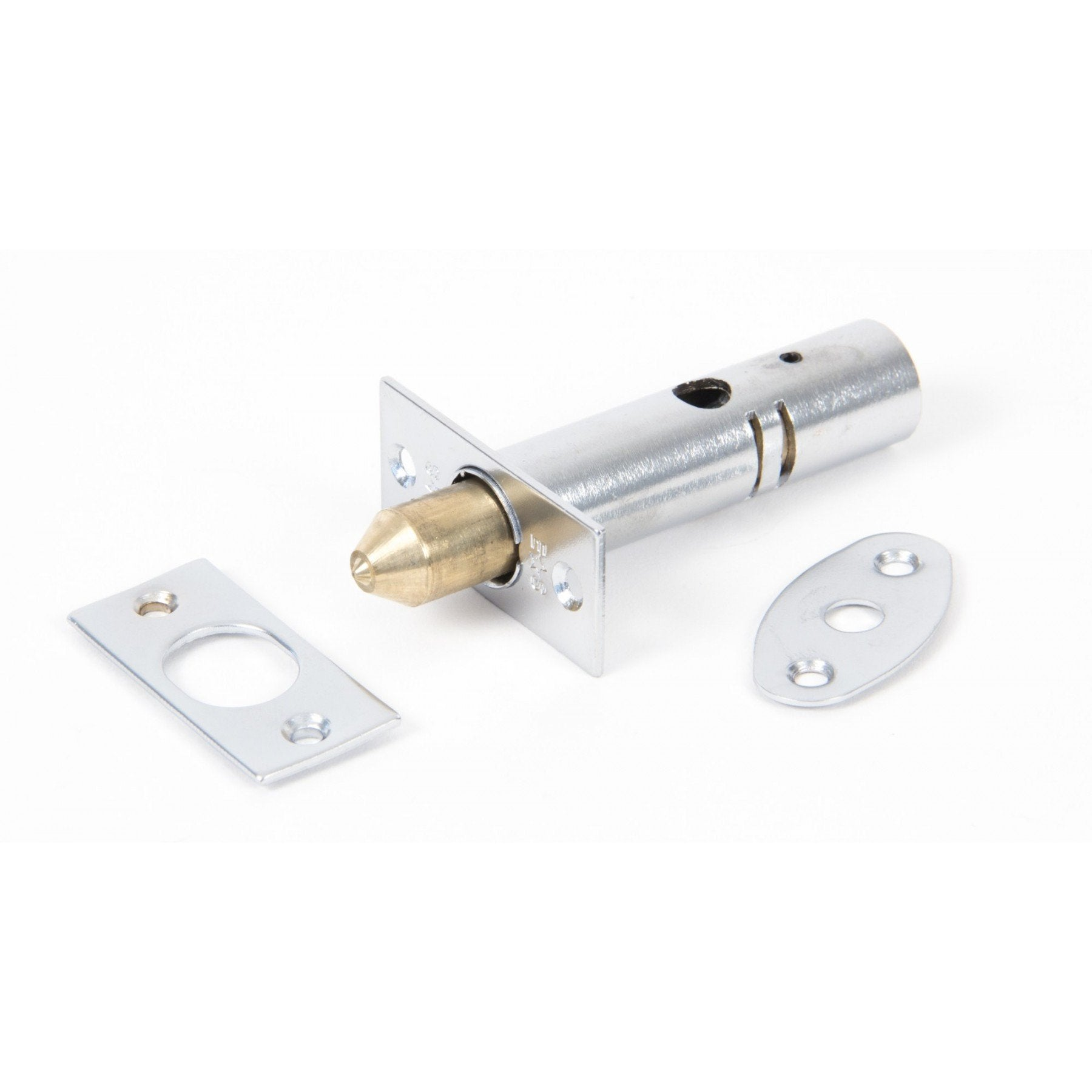 Satin Chrome Security Door Bolt - No.42 Interiors