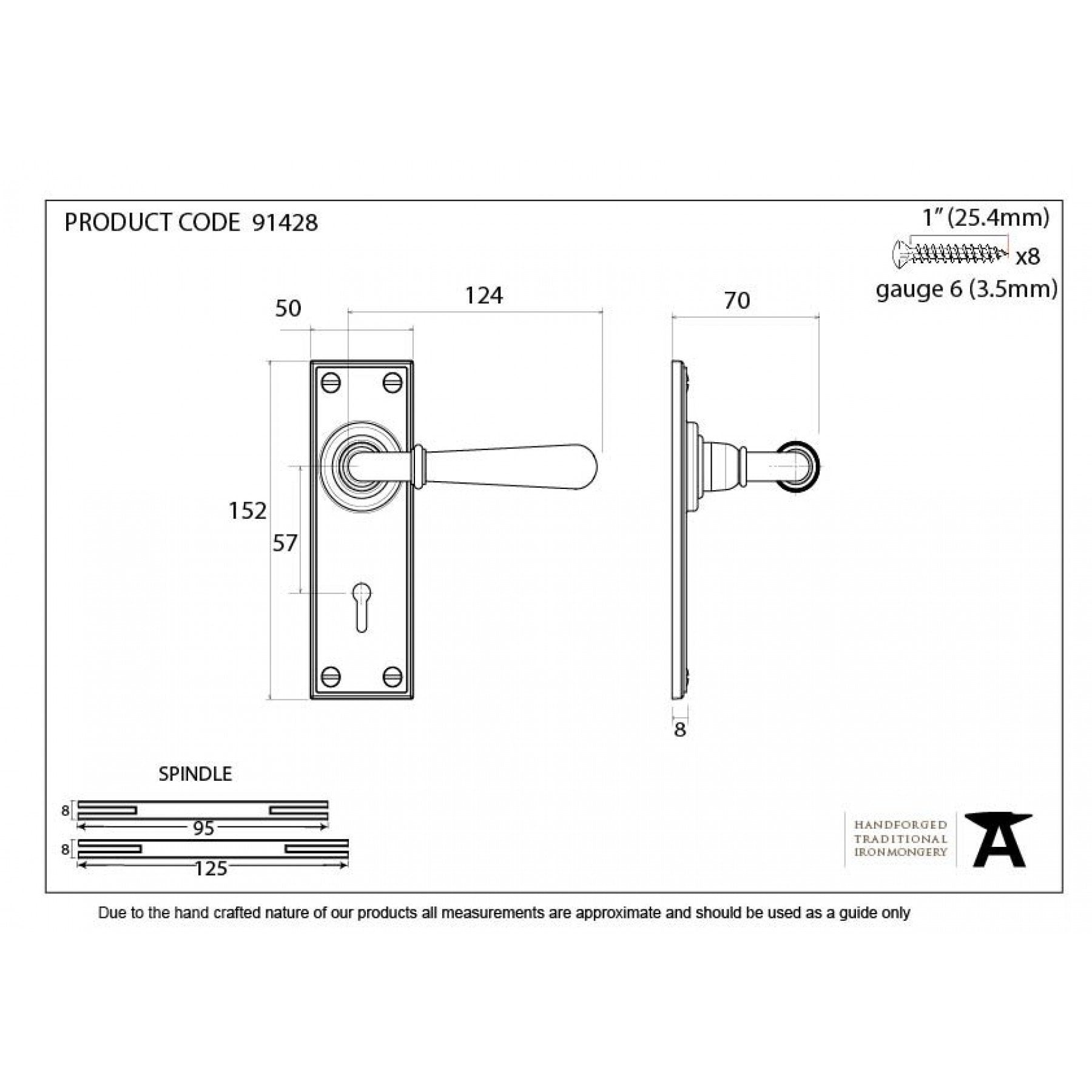Polished Nickel Newbury Lever Lock Set - No.42 Interiors