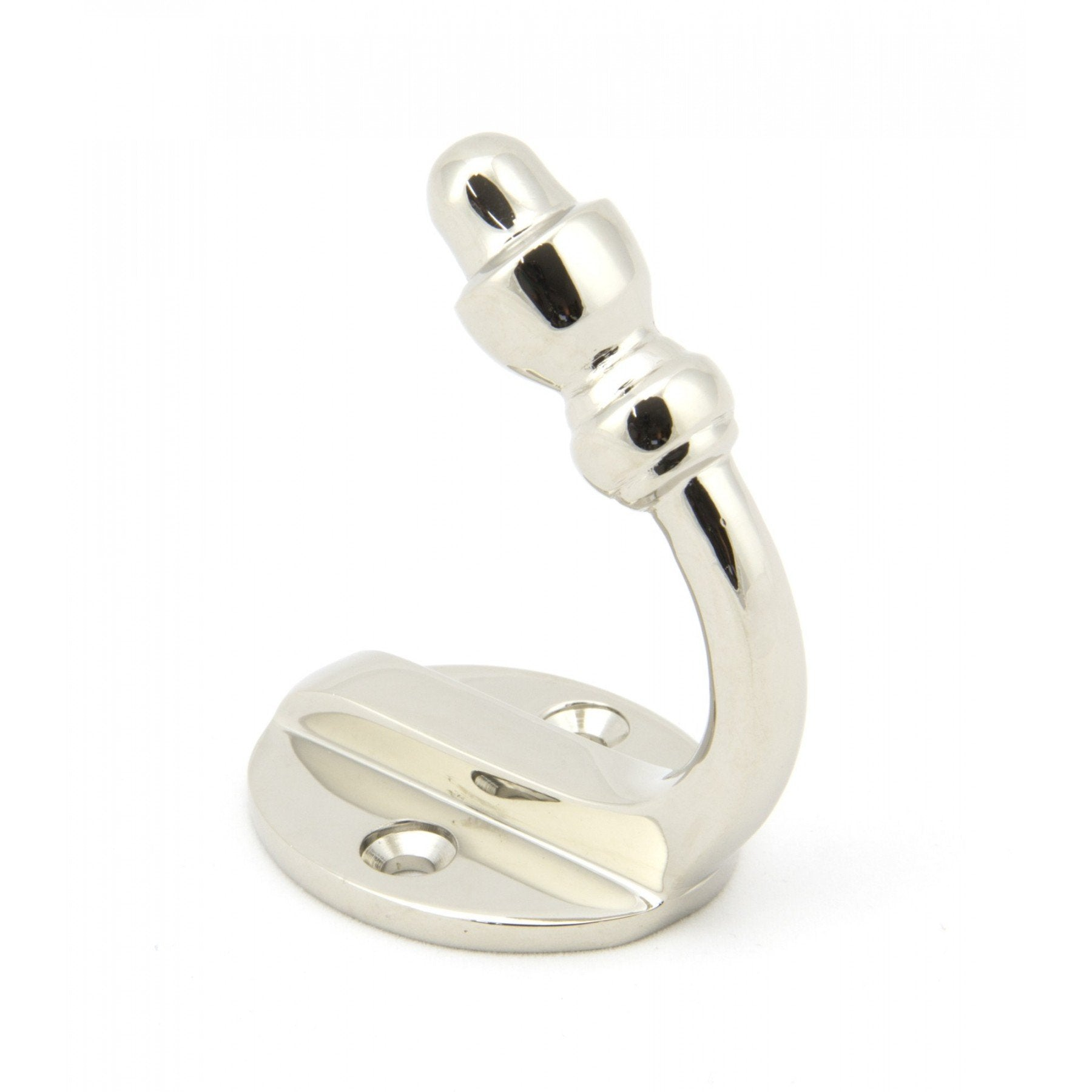 Polished Nickel Coat Hook