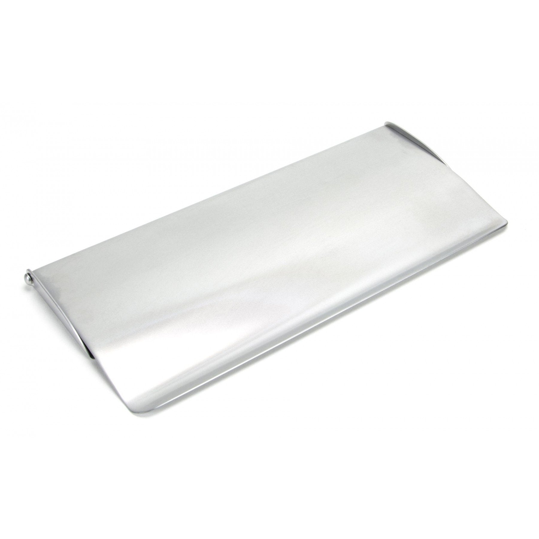 Satin Chrome Small Letter Plate Cover - No.42 Interiors