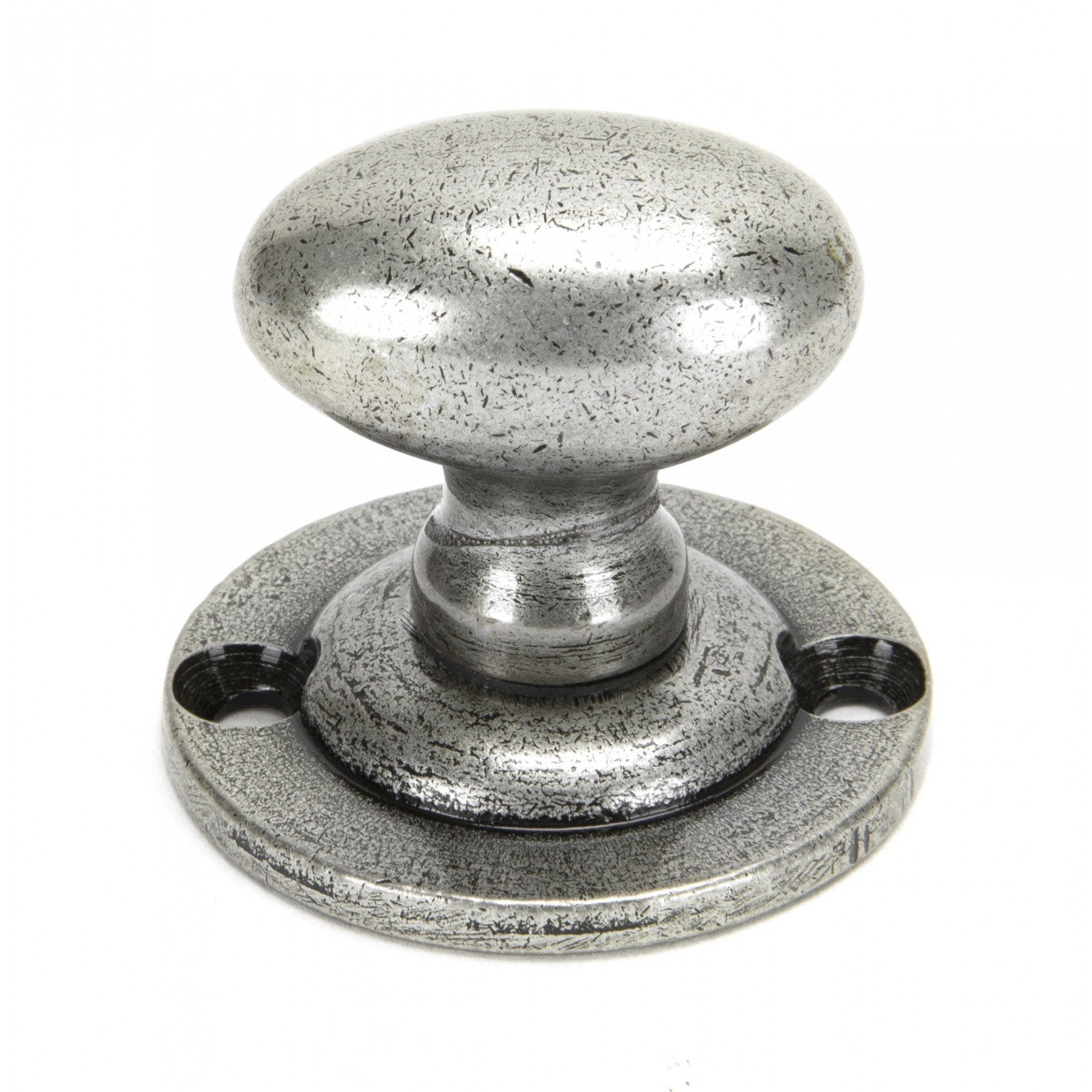 Pewter Oval Rack Bolt - No.42 Interiors