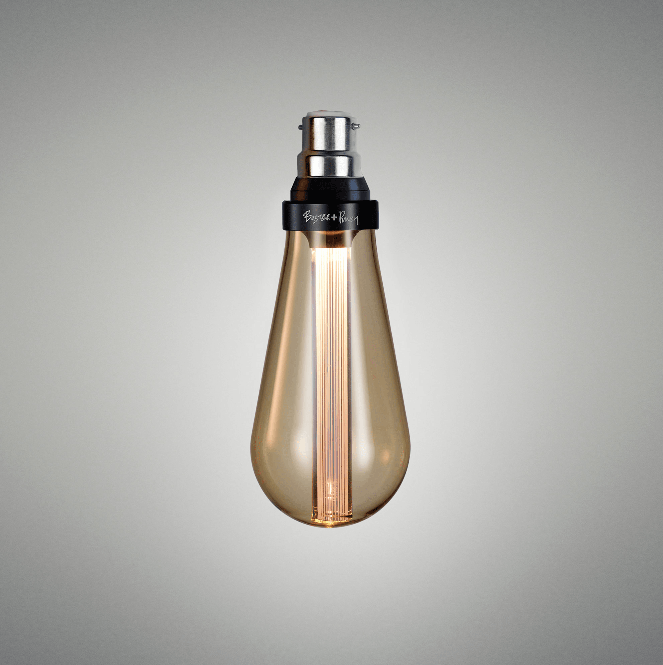 BUSTER BULB / GOLD -  NON DIMMABLE - B22 - No.42 Interiors