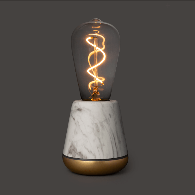 Humble One Light - White Marble - Satin Brass - No.42 Interiors
