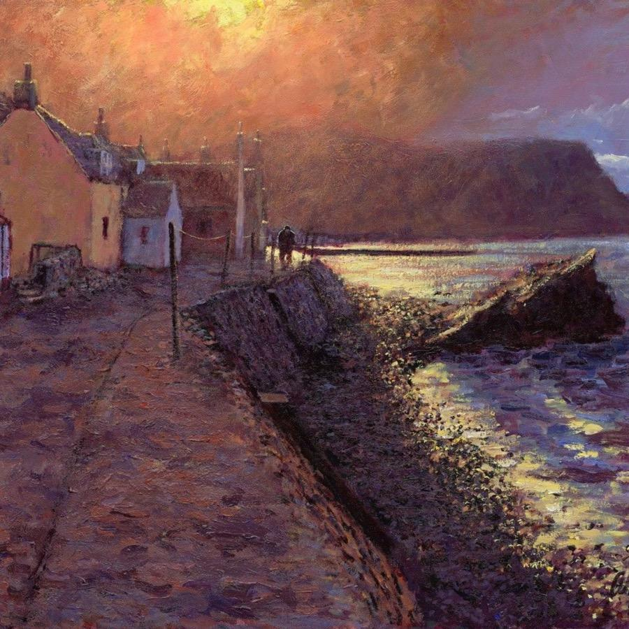 After The Storm Crovie - Alexander Millar - Limited Edition Canvas - No.42 Interiors