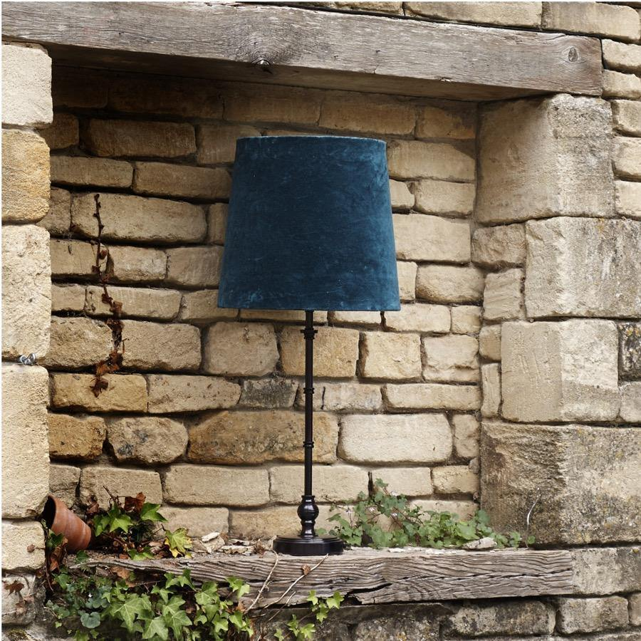 Pooky chukka table lamp in a bronze finish - No.42 Interiors