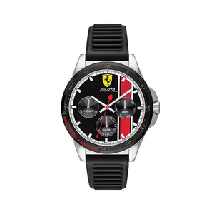 Scuderia Ferrari Men's Analogue Quartz Watch with Silicone Strap 0830661