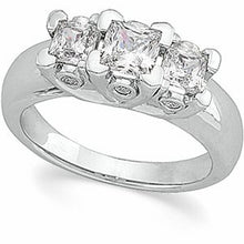 Load image into Gallery viewer, 14K White 1 1/3 CTW Diamond Anniversary Ring
