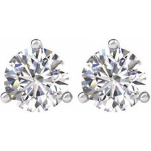 Load image into Gallery viewer, 14K White 2 CTW Diamond Earrings
