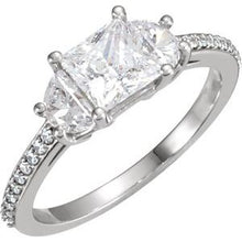 Load image into Gallery viewer, 10K White 1 5/8 CTW Diamond Engagement Ring