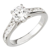 Load image into Gallery viewer, 14K White 1 3/4 CTW Diamond Engagement Ring