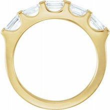 Load image into Gallery viewer, 14K Yellow 9/10 CTW Diamond Anniversary Band