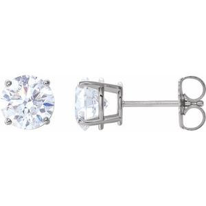 14K White 2 CTW Diamond Earrings