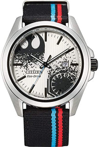 AW1438-33W Men's Citizen Eco-Drive® Star Wars™ Sequel Strap Watch with Silver-Tone Dial