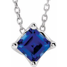 Load image into Gallery viewer, Solitaire Necklace or Slide Pendant