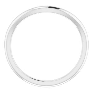 Sterling Silver Band for 7 mm Round Ring