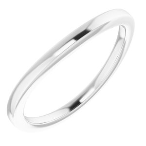 Sterling Silver Band for 8.8 mm Round Ring