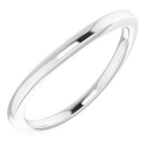 Sterling Silver Band for 11 mm Round Ring