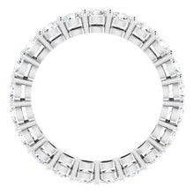 Load image into Gallery viewer, Platinum 2 CTW Diamond Eternity Band Size 6