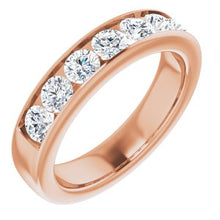 Load image into Gallery viewer, 14K Rose 1 7/8 CTW Diamond Band