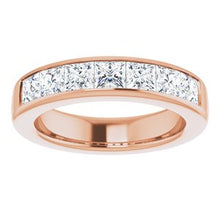 Load image into Gallery viewer, 14K Rose 2 3/4 CTW Diamond Band