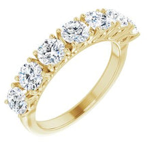 Load image into Gallery viewer, 14K Yellow 1 3/4 CTW Diamond Anniversary Band