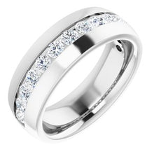 Load image into Gallery viewer, 14K White 1 3/8 CTW Diamond Band