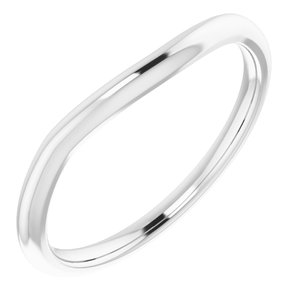 Sterling Silver Band for 7x5 mm Oval Ring