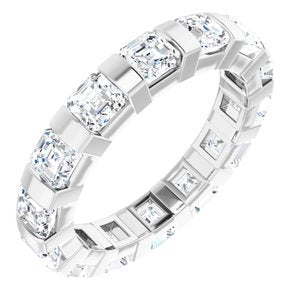 14K White 2 1/2 CTW Diamond Eternity Band