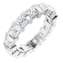 Load image into Gallery viewer, 14K White 2 1/2 CTW Diamond Eternity Band