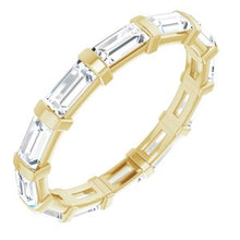 Load image into Gallery viewer, 14K Yellow 1 CTW Diamond Eternity Band